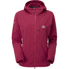 Mountain Equipment W's Echo Hooded Jacket Sangria
